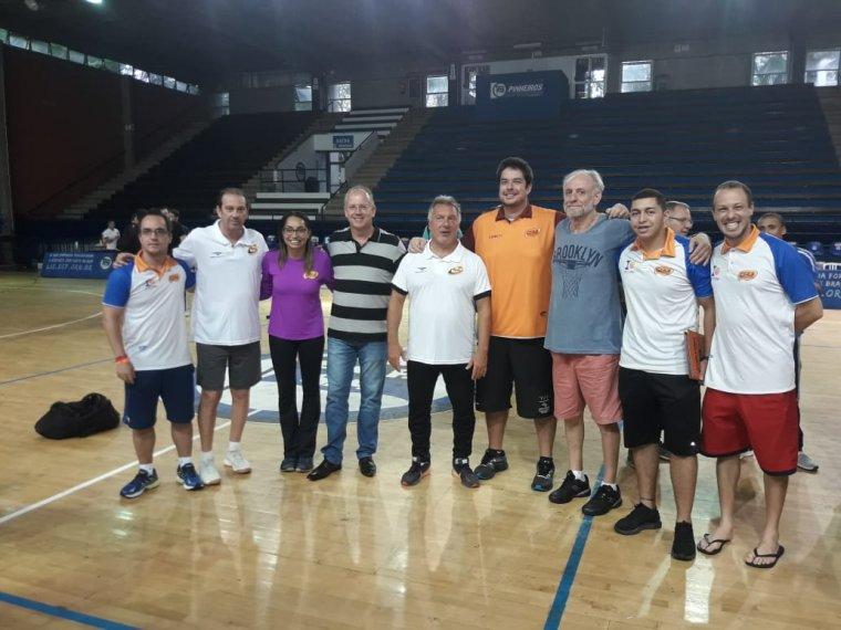 Técnicos Chuí Esportes participam de Clínica Internacional