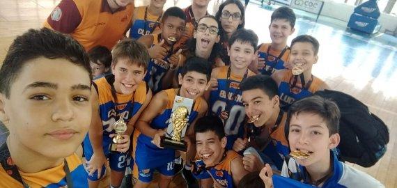 Sub-12 Instituto Chuí é campeão Paulista do Interior