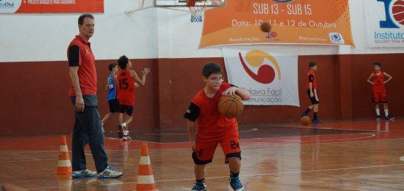 Chuí Chuá realiza peneira de basquete para formar equipes de competição