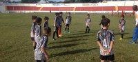 Garotada do futebol se encanta com estádio Oswaldo Scatena