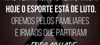 #ForcaChape #Luto